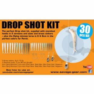 Savage Gear Dropshot Kit - 30pc